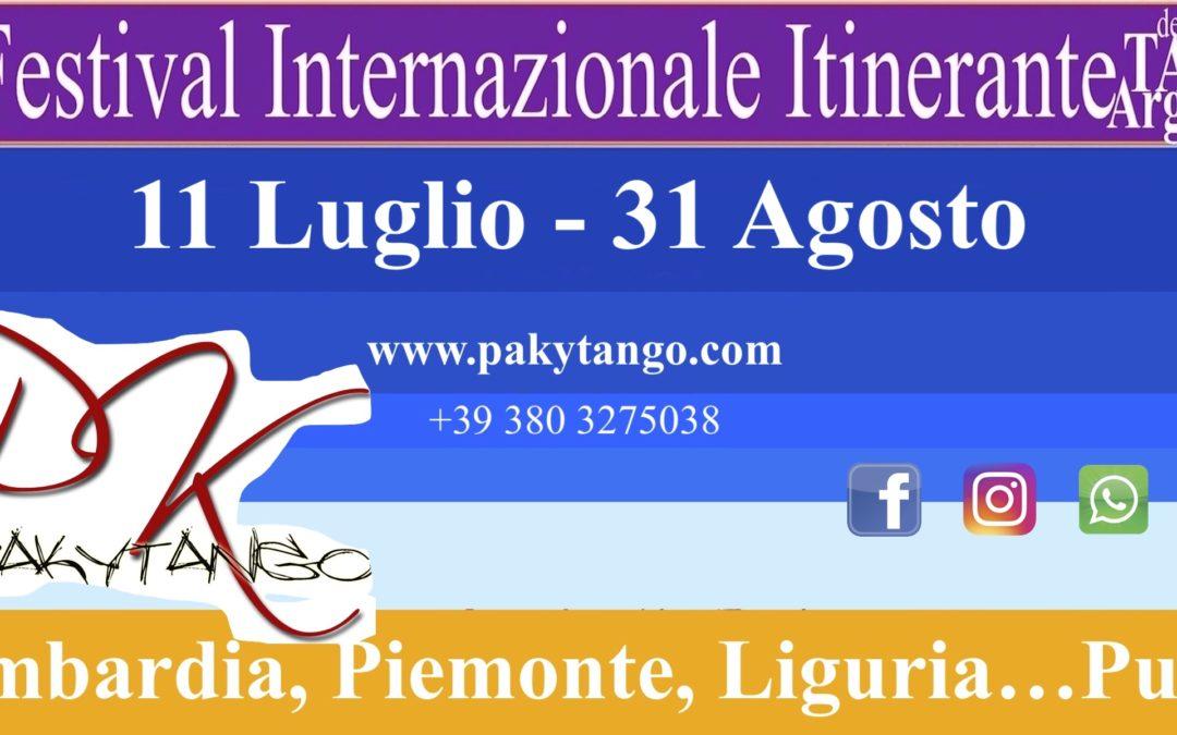 8° Festival Internazionale Itinerante 2019