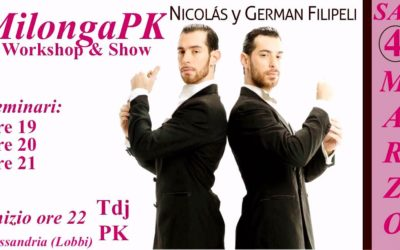 SAB 4 MAR: Show & Workshop con Los Filipeli (Arg) in MilongaPK