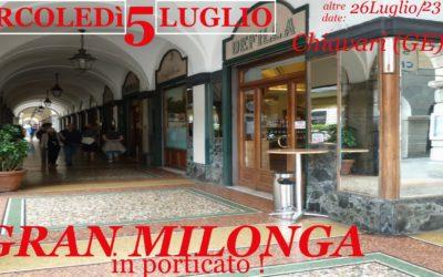 MERC 5 LUG: Gran Cafè DEFILLA, Milonga d'altri Tempi !
