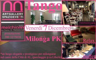 VEN 7 DIC- MilongaPK al Palazzo Melchionni (AL) –  Tdj