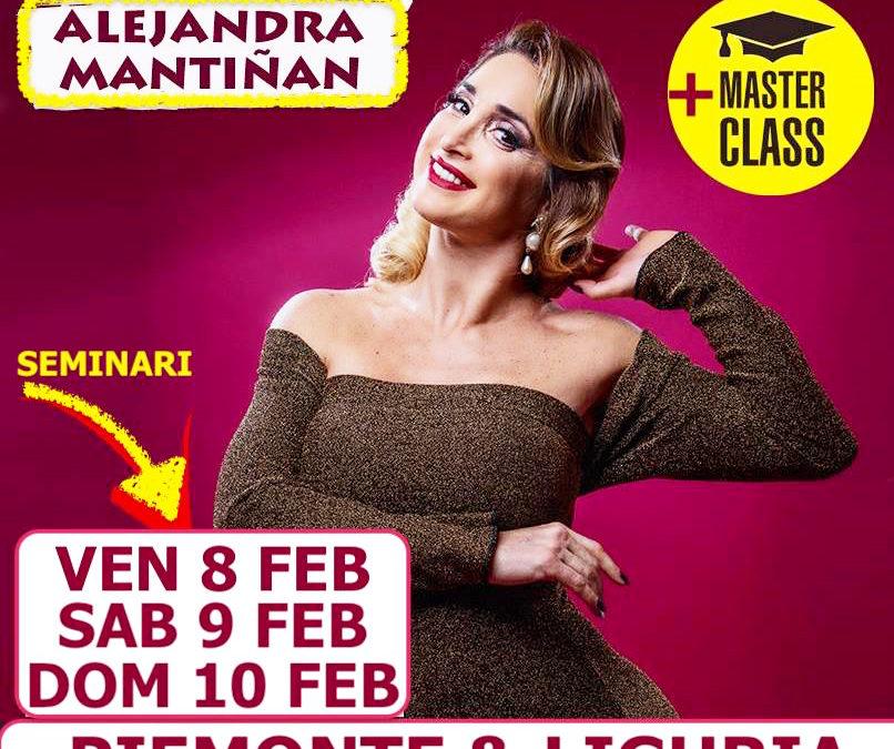 8/9/10 FEBBRAIO  con Alejandra Mantinan: Pimonte/Liguria