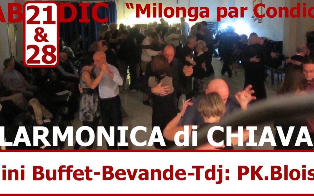 """VEN 21 DIC: Filarmonica di Chiavari """"Milonga par Condicio"""""""