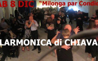 "SAB 8 DIC: Filarmonica di Chiavari ""Milonga par Condicio"""
