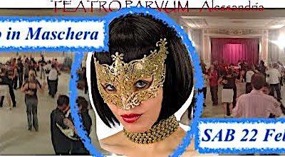 SAB 22 FEB Teatro Parvum, Tango in Maschera, Tdj PABLO, stage MilongaPKB